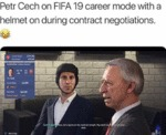 Petr Cech On Fifa 19 Career Mode With A...