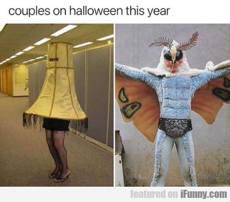 Couples On Halloween This Year