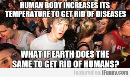 Human Body Increases Its Temperature To...
