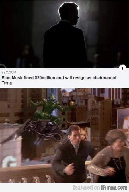 Elon Musk fined $20 Million and will resign...
