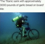 The Titanic Sank With Approximately 3000 Pounds...