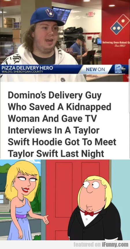 Domino's Delivery Guy Who Saved A Kidnapped...