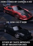 How I Tuned My Cars As A Kid Vs. How I Do It...