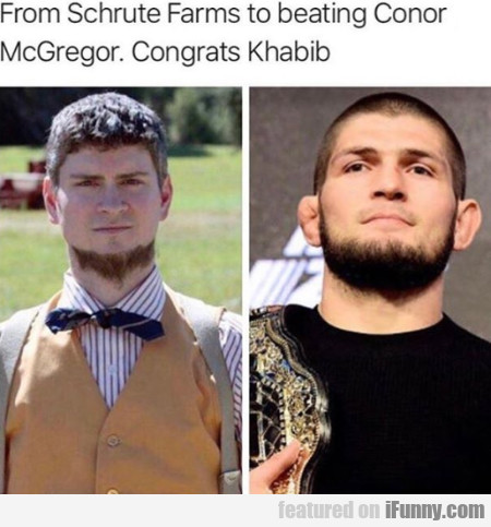 From Schrute Farms To Beating Conor Mcgregor...