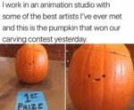 I Work In An Animation Studio With Some Of The...