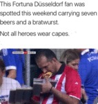 This Fortuna Dusseldorf Fan Was Spotted...