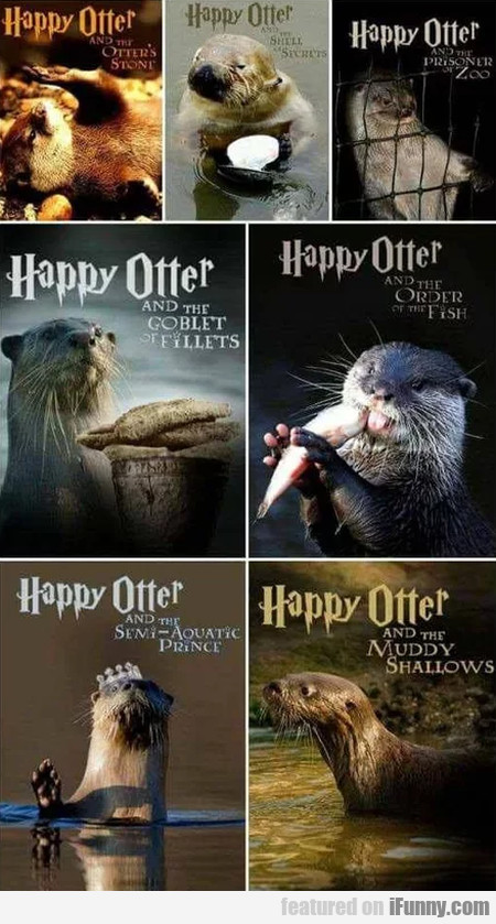 Happy Otter And The Otter's Stone