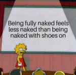 Being Fully Naked Feels Less Naked Than...
