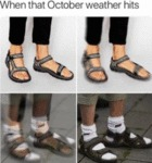 When That October Weather Hits
