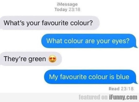 What's Your Favourite Colour - What Colour Are...