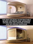 This Bed Has Built-in Retractable Blinds...