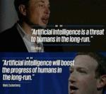 Artificial Intelligence Is A Threat To Humans...