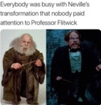 Everybody Was Busy With Neville's Transformation..