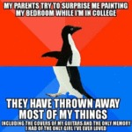 My Parents Try To Surprise Me Painting My...