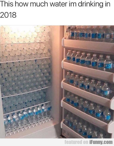 This How Much Water Im Drinking In 2018...