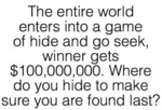 The Entire World Enters Into A Game Of...