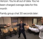 Verizone - You're All Out Of Data. You've Been...