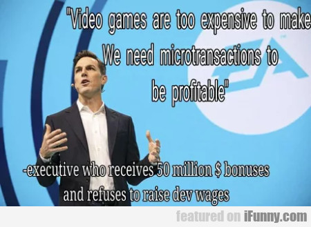 Video Games Are Too Expensive To Make - We Need...
