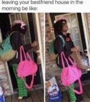 Leaving Your Bestfriend House In The Morning...