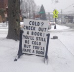 Cold - Check Out A Book! You'll Still Be Cold
