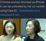Chinese Woman Shocked As Iphone X Can...