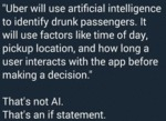 Uber Will Use Artificial Intelligence To...