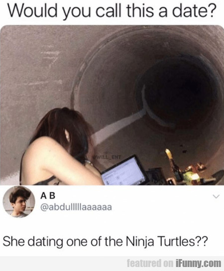 Would You Call This A Date - She Dating One...