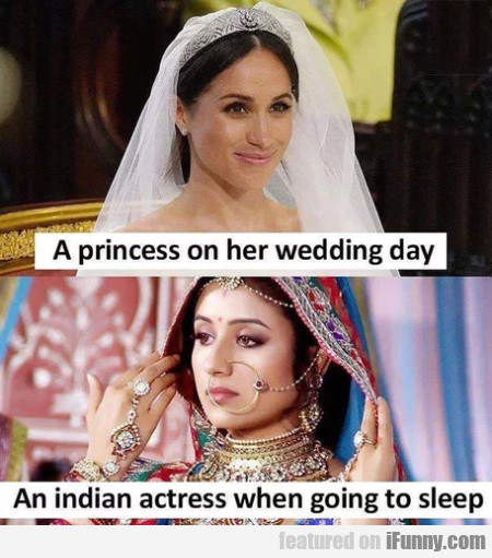 A Princess On Her Wedding Day - An Indian...