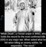 White Death, A Finnish Sniper In Ww2, Who...