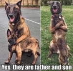 Yes, They Are Father And Son