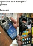 Apple - We Have Waterproof Phones - Samsung...