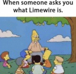 When Someone Asks You What Limewire Is