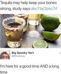 Tequila May Help Keep Your Bones Strong...