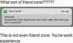 What Sort Of Friend Zone - This Is Not Even...