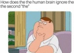 How Does The The Human Brain Ignore The...