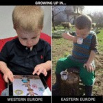 Growing Up In... Western Europe - Eastern Europe