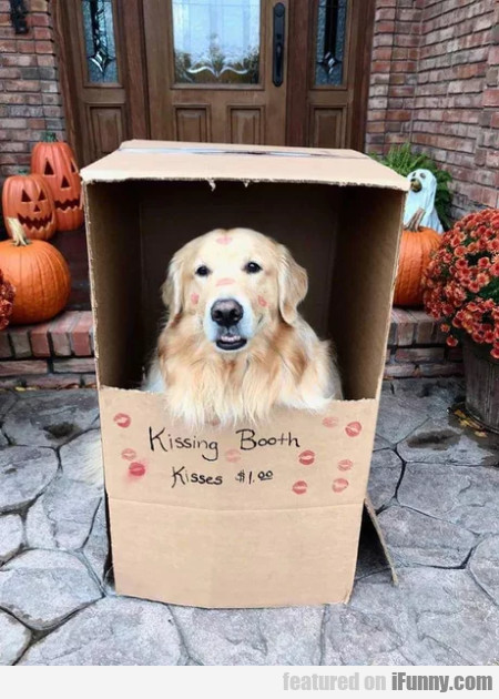 Kissing Booth - Kisses $1.00