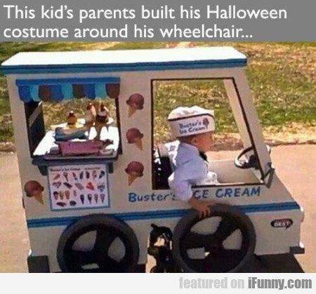 This Kid's Parents Built His Halloween Costume...