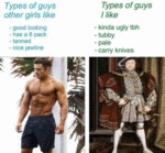 Types Of Guys Other Girls Like - Good Looking...
