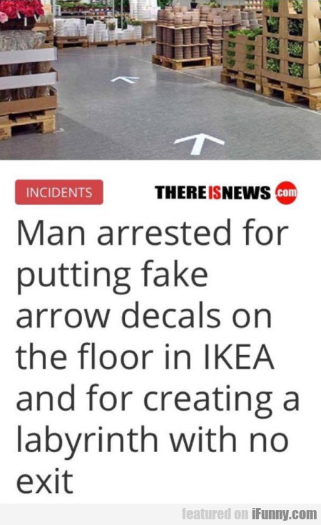 Man Arrested For Putting Fake Arrow Decals On...