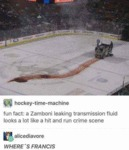 Fun Fat - A Zamboni Leaking Transmission Fluid...