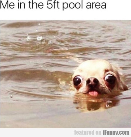 Me In The 5ft Pool Area