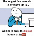The Longest Five Seconds In Anyone's Life Is...