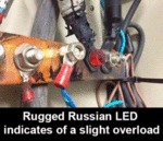 Rugged Russian Led Indicates Of A Slight...