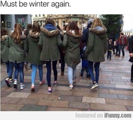 Must Be Winter Again