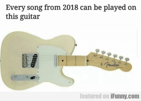 Every Song From 2018 Can Be Played On This...