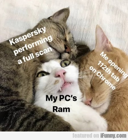 Kaspersky Performing A Full Scan - My Pc's Ram