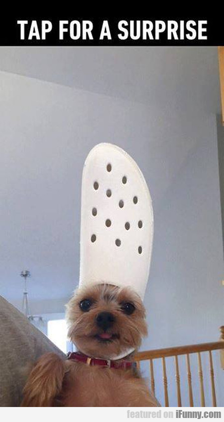 Tap For A Surprise