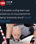 A Canadian Curling Team Was Kicked Out Of...