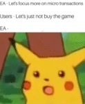 Ea - Let's Focus More On Micro Transactions
